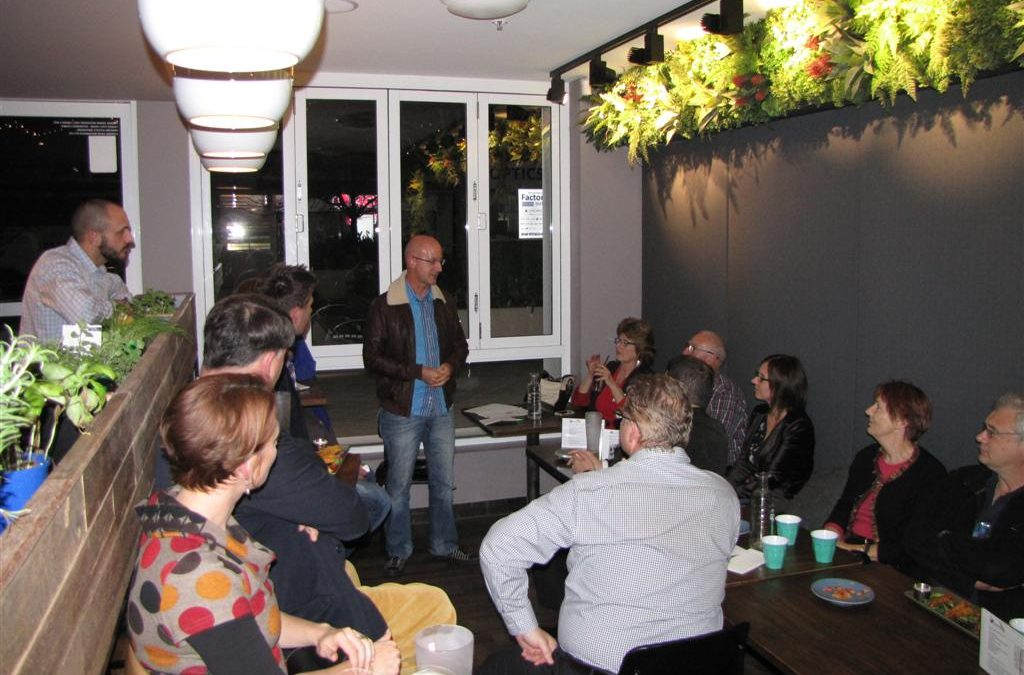 June 2015 Meeting @ Shores Hornsby